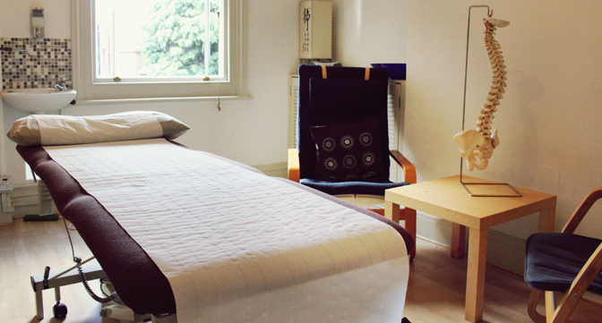 Osteopathic Room For Hire In London